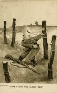 Gott Strafe This Barbed Wire