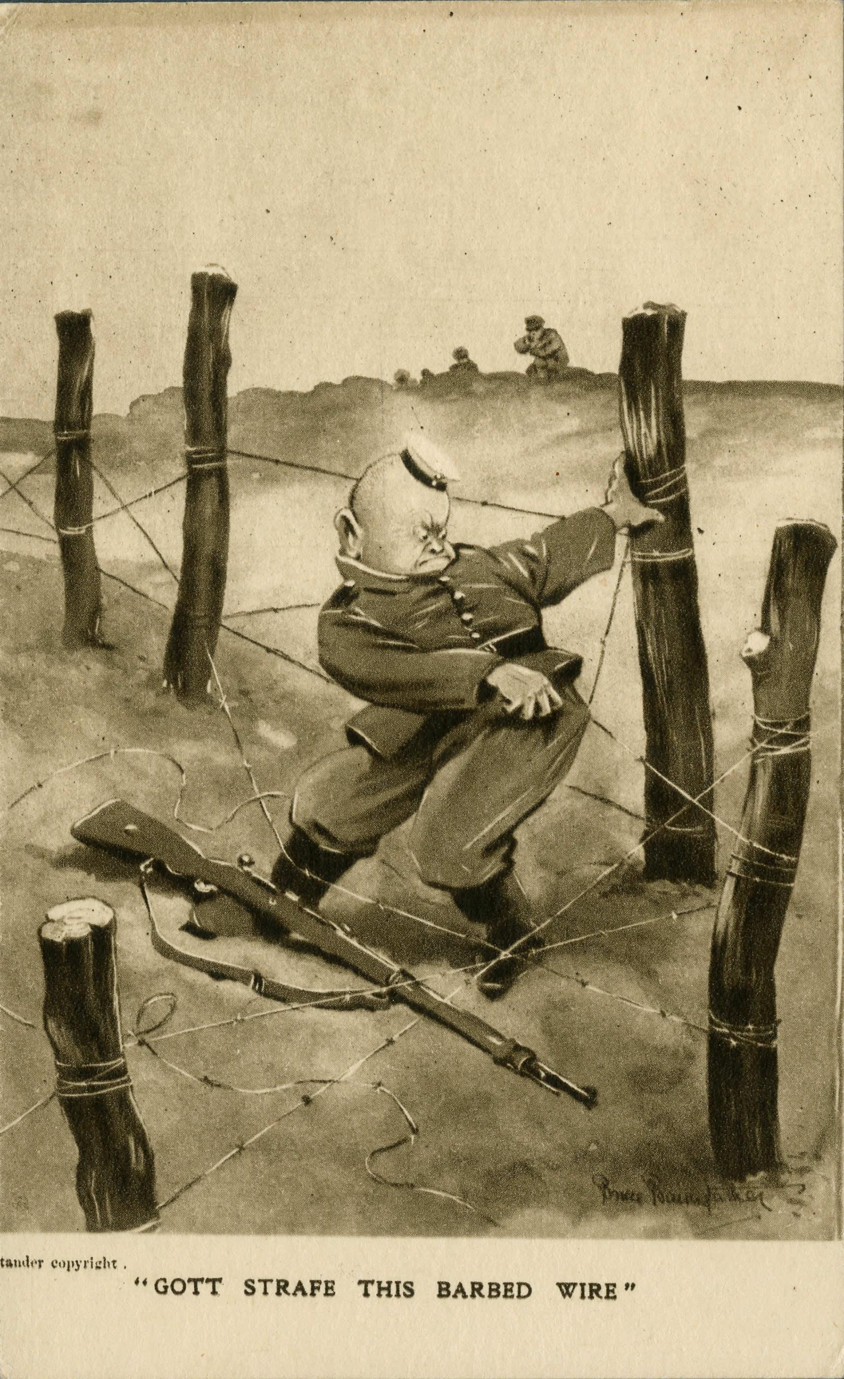 <i>Gott Strafe This Barbed Wire</i>