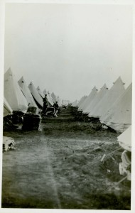 Bell Tents at Valcartier Camp