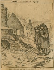 Xmas in Belgium, 1914.