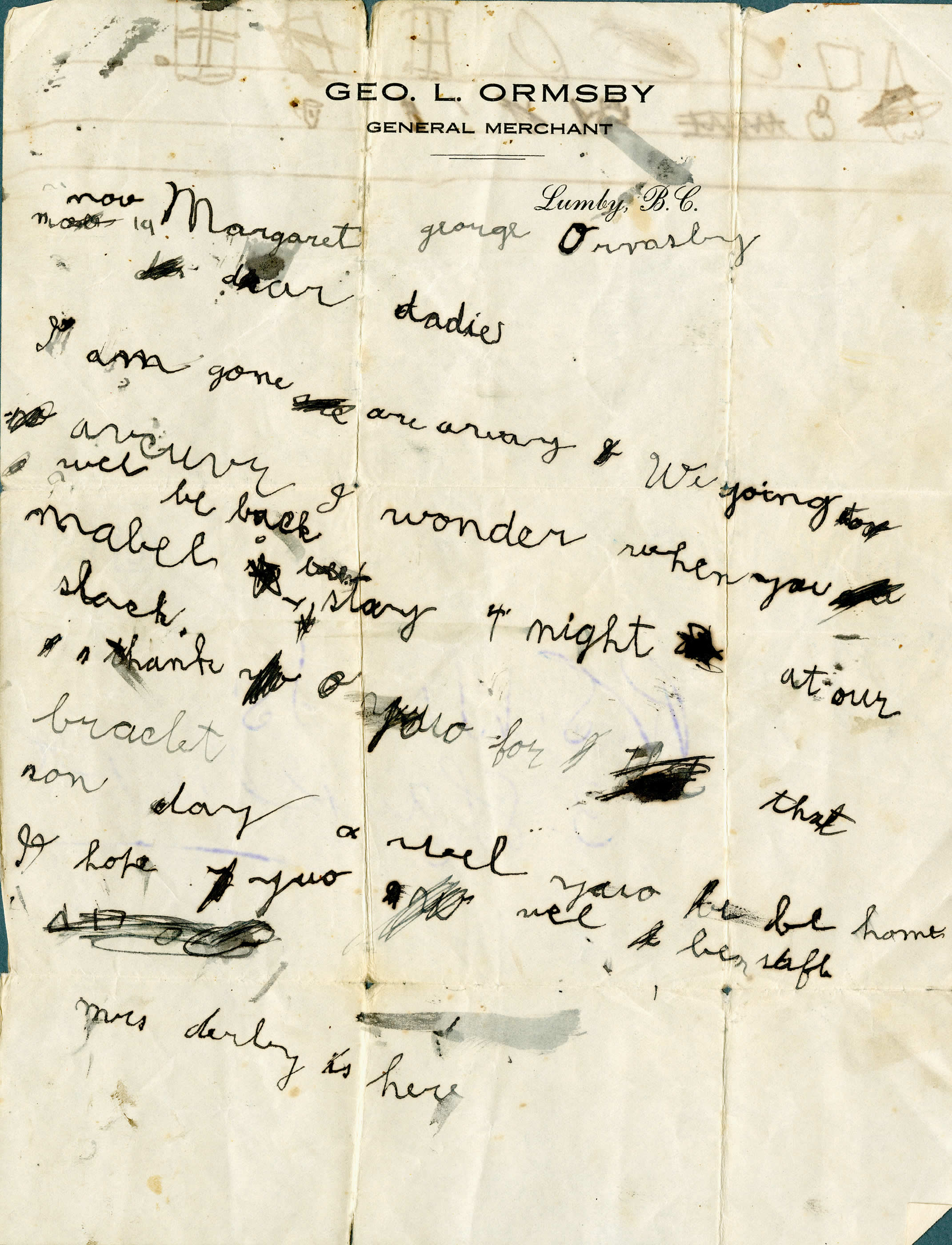 <i>Letter from a Daughter</i>
