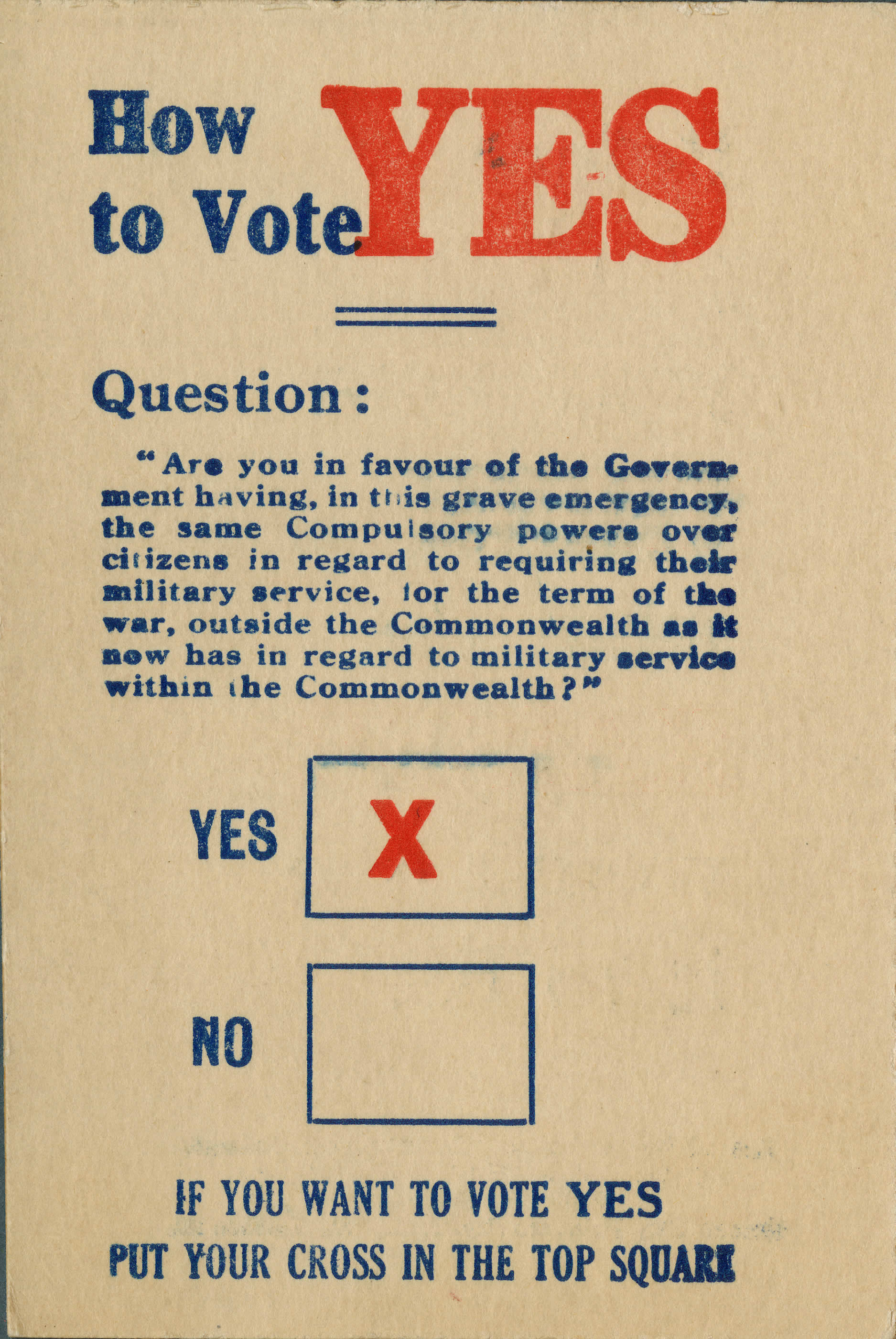 <i>How to Vote YES</i>