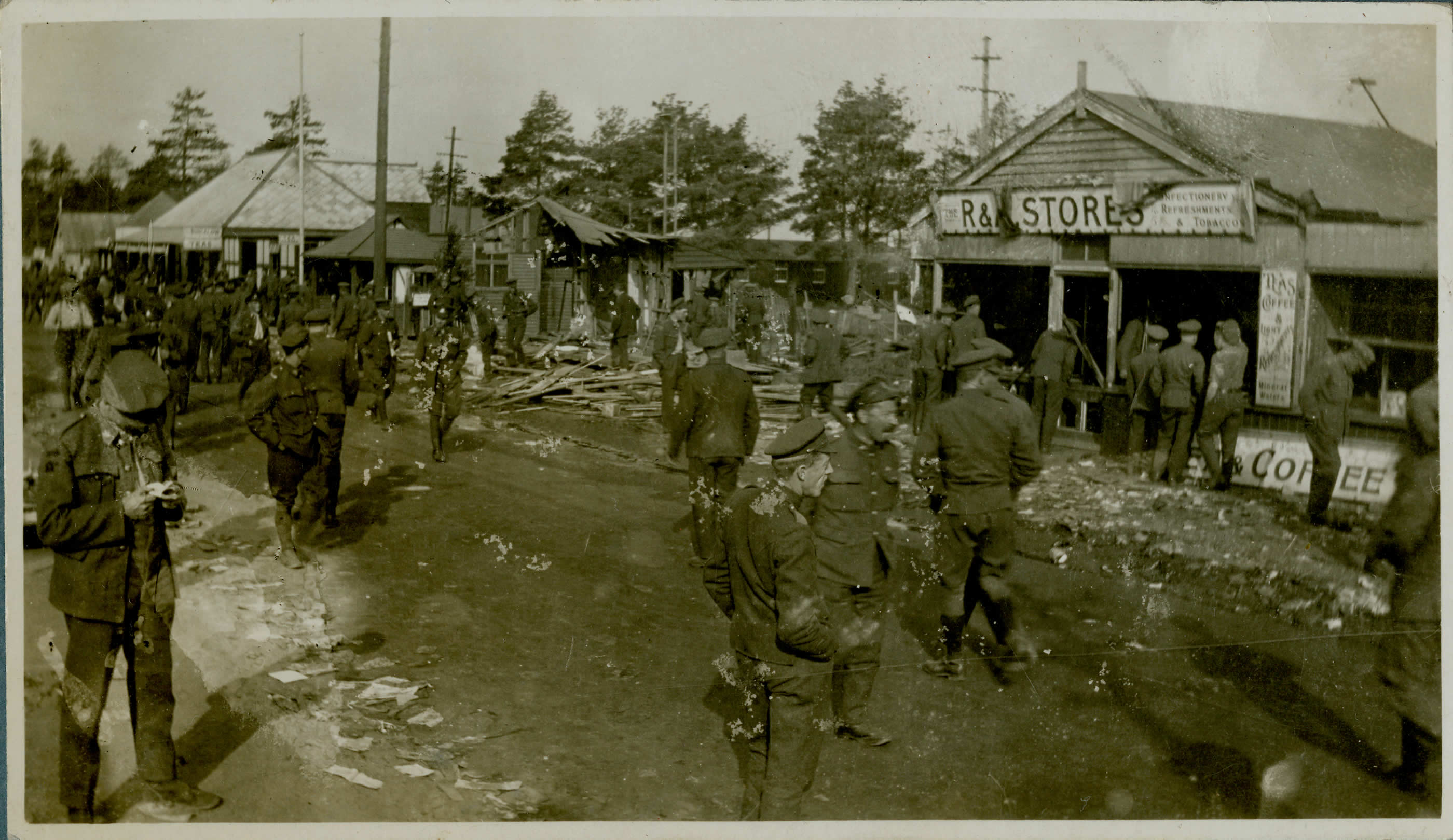 Post War Photographs Kinmel Riots Canada And The First