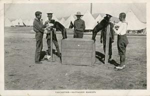 Mascots at Valcartier