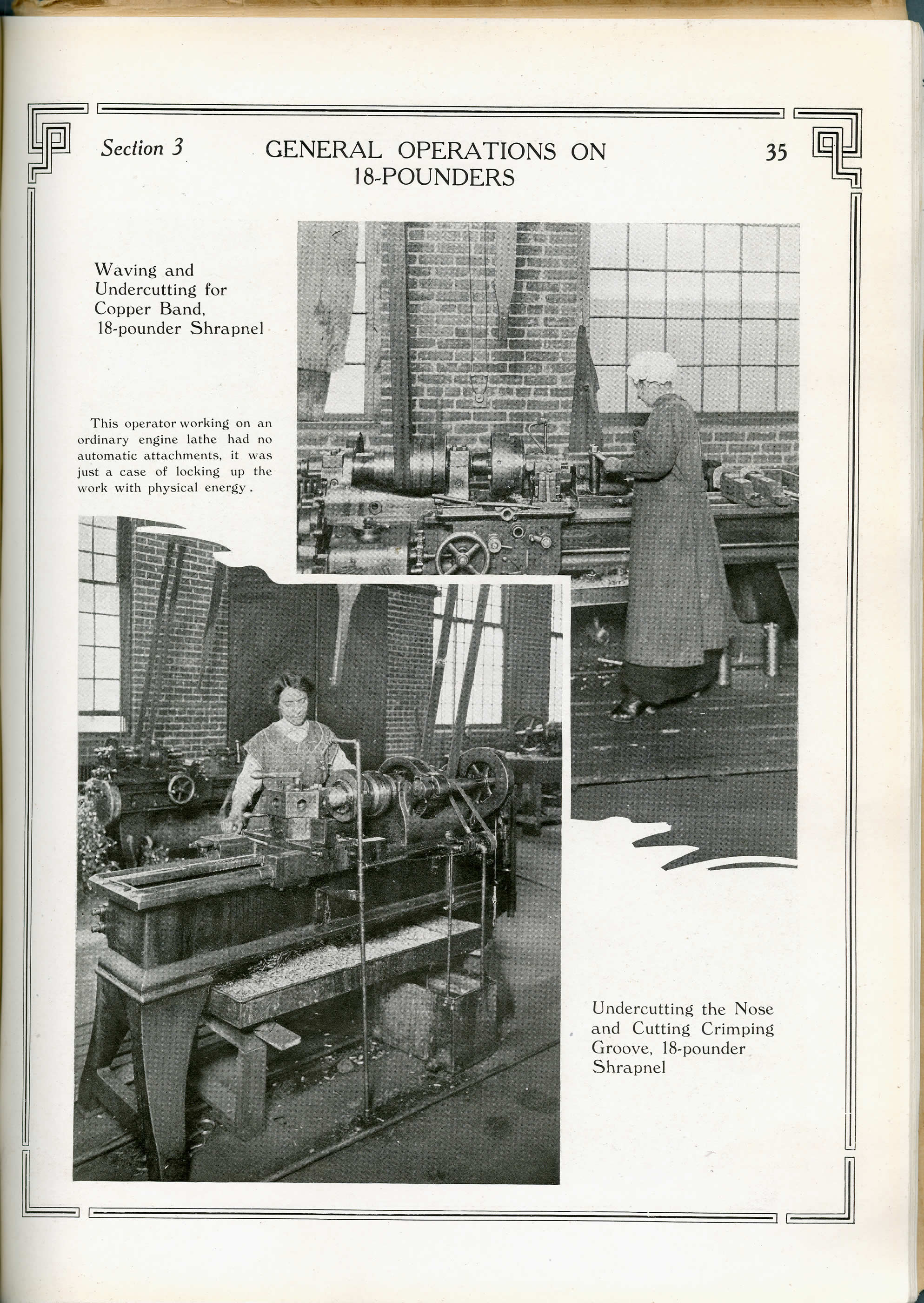 Women Making 18-pounder Shells