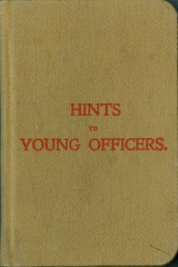 Hints to Young Officers