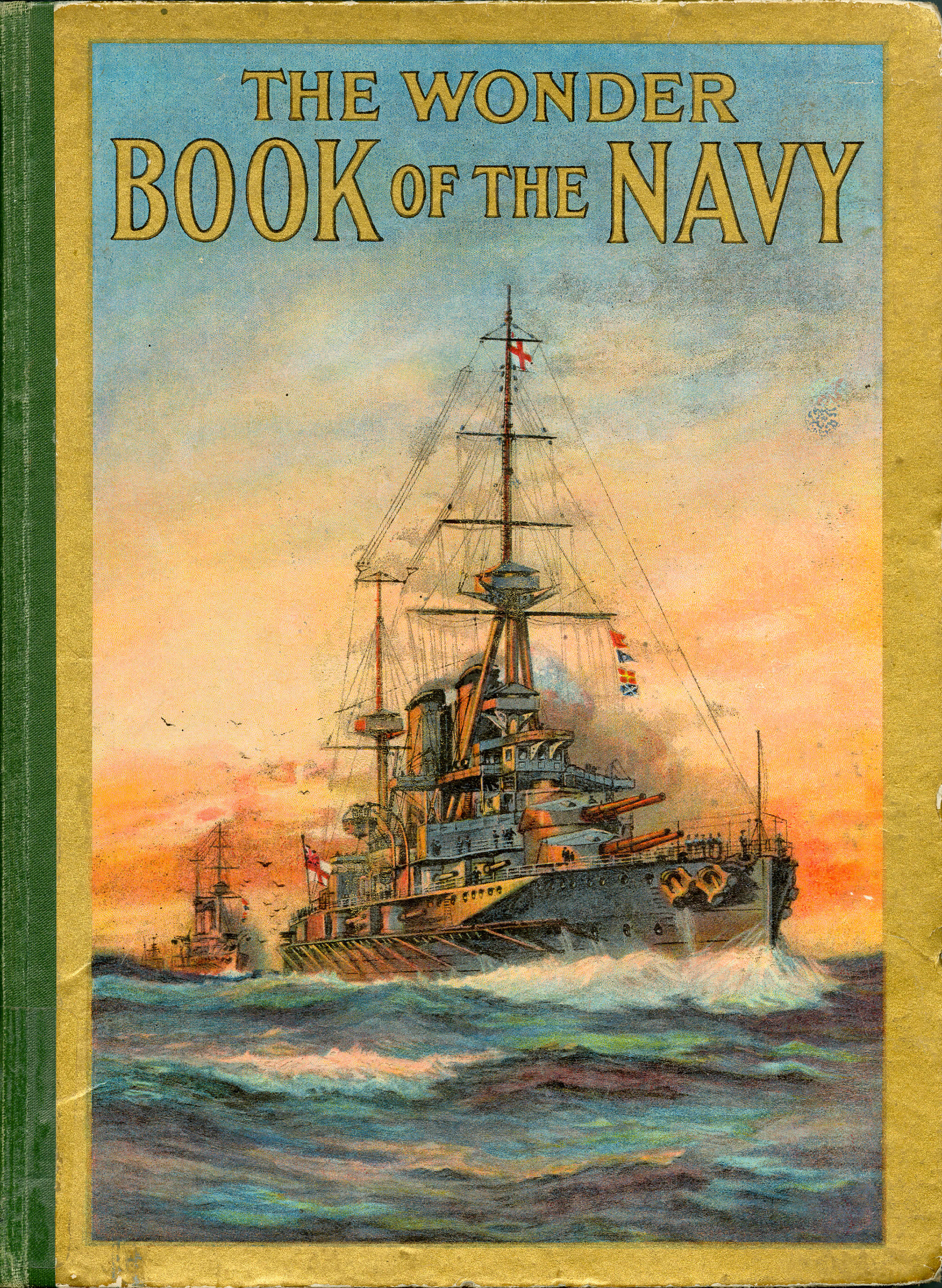 <i>The Wonder Book of the Navy</i>