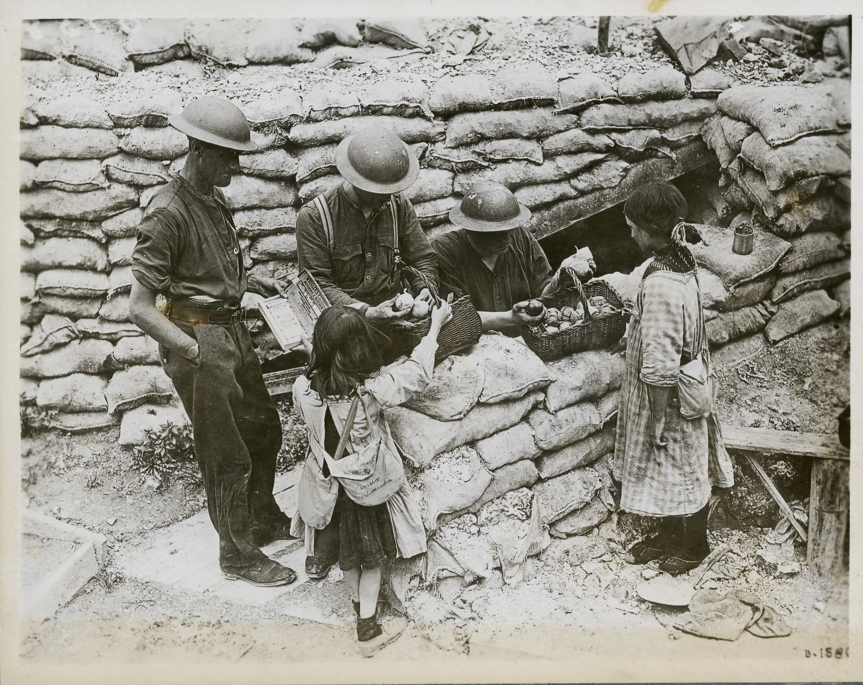 French Children Near the Front