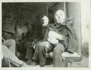 Mustard Gas Victims