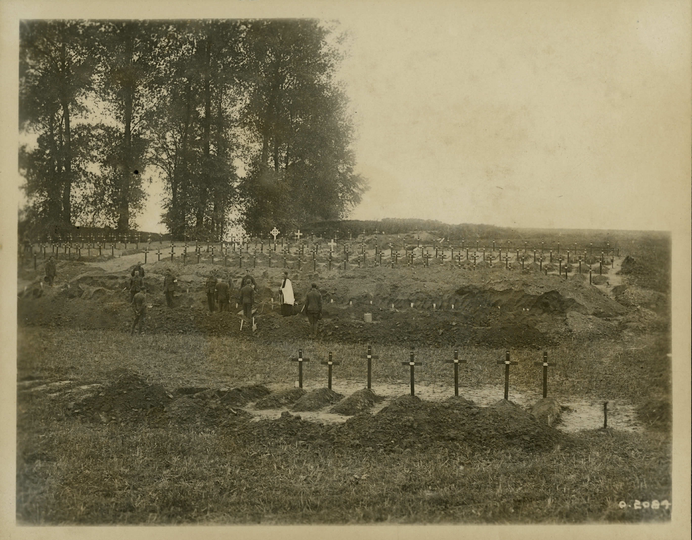 Burial Ground at Somme