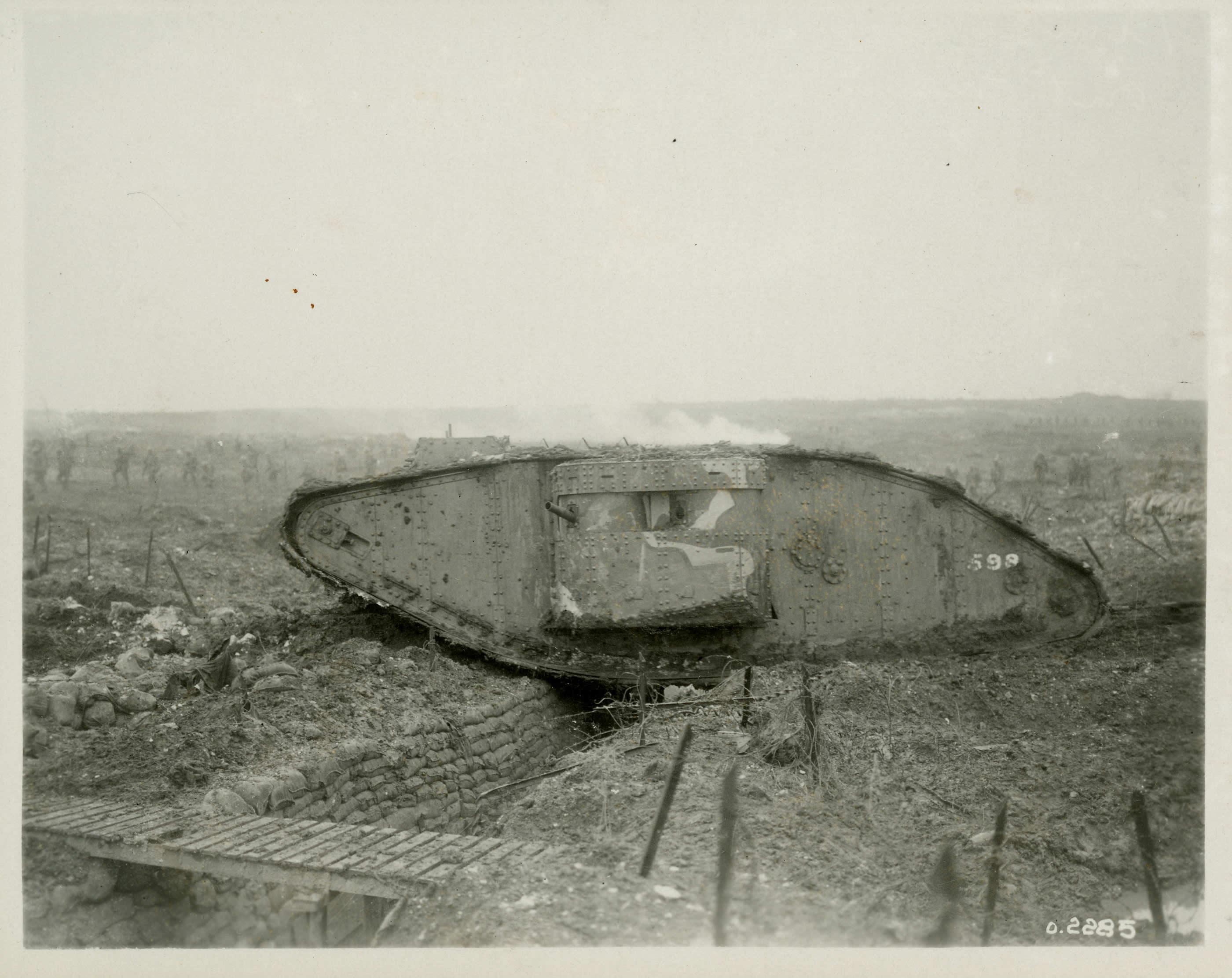 Tank at Vimy