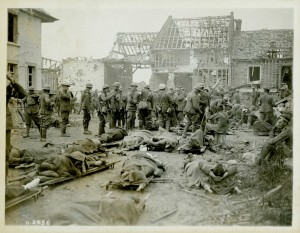 Wounded at Amiens