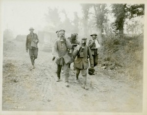 Prisoners and Wounded in Gas Masks