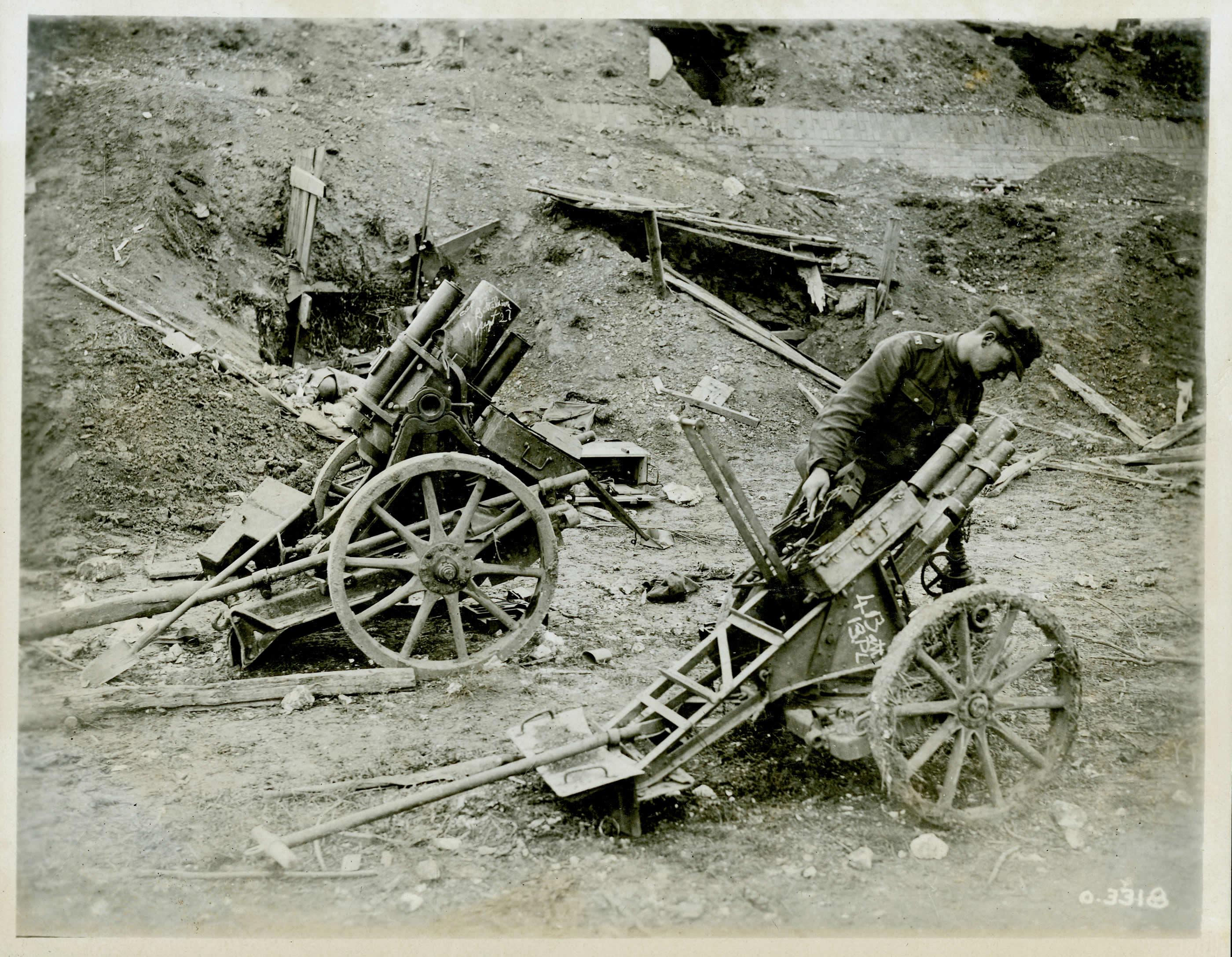 Captured Mortars