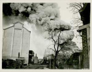 Fire at Valenciennes