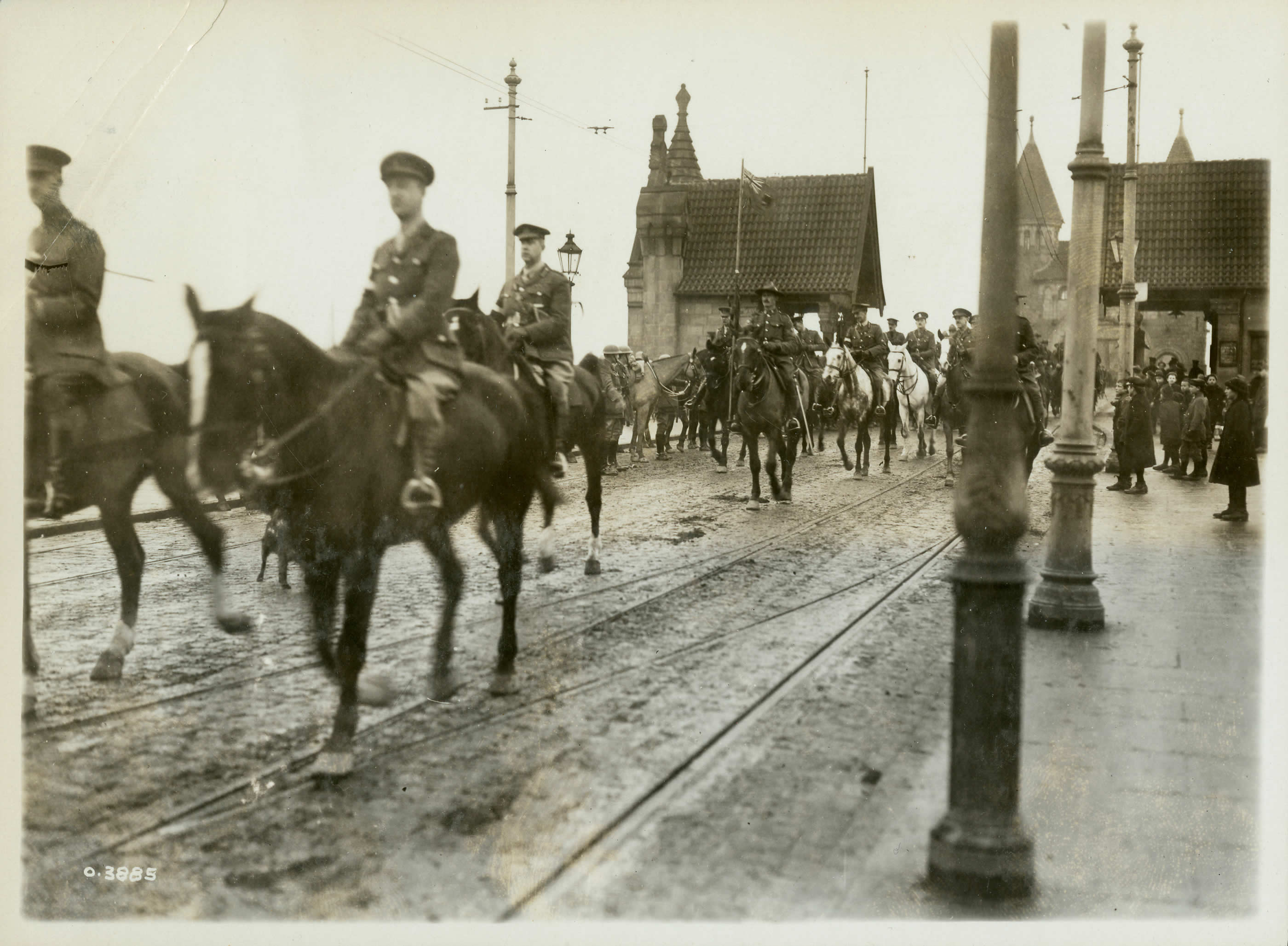 General Currie on the Rhine