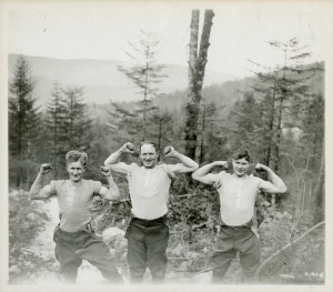 Men of the Forestry Corps
