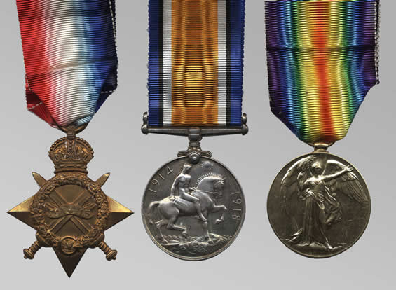 Tunneller's Medals