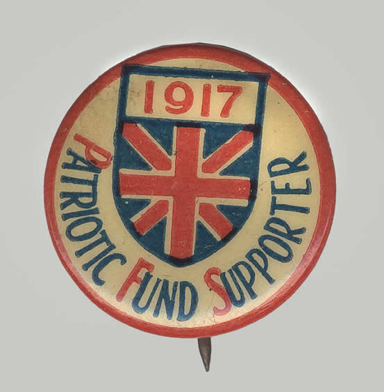 1917 Patriotic Fund Supporter