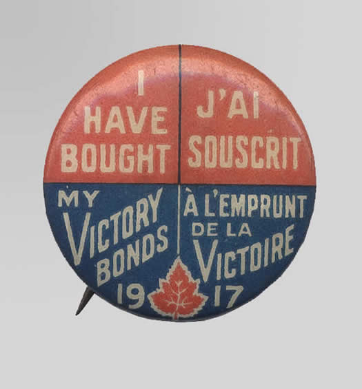 Victory Bond Button