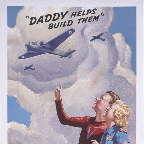 Poster – Daddy Helps Build Them