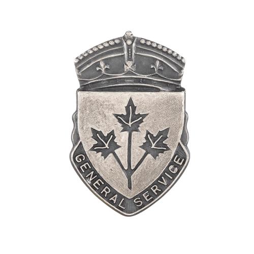 General Service Badge and description