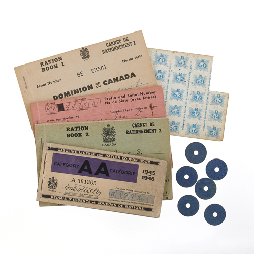 Ration Book and Tokens, description