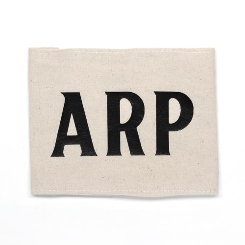 Air Raid Precaution Armband and description