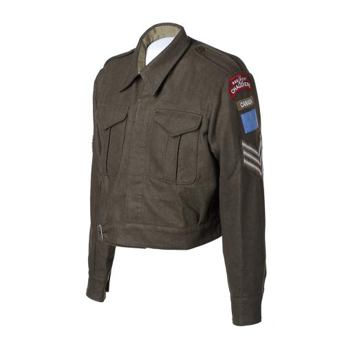 Army Battle Dress Jacket and description