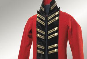Quebec City Militia Officer's Coat