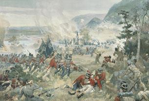 La bataille de Queenston Heights, 13 octobre 1812