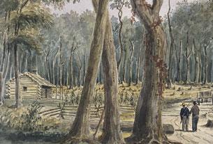 Bush Farm near Chatham, 1838