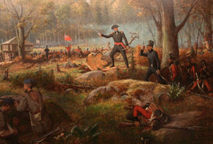 The Battle of Châteauguay