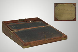 Captain William Bradley's Portable Writing Desk, 104th Regiment of Foot