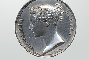 Military General Service Medal, 1793–1814 with Bar: Crysler's Farm, Joseph Plamondon, Canadian Militia