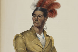 Ahyouwaighs, Chief of the Six-Nations (John Brant)