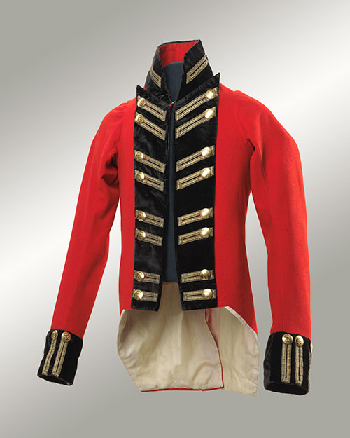 Quebec City Militia Officer's Coat