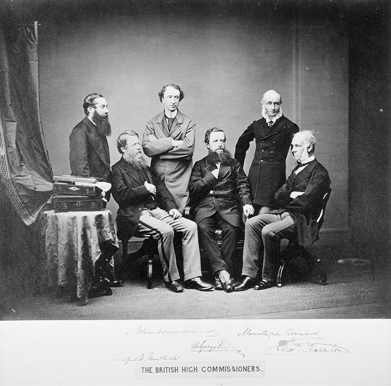 The British High Commissioners for the Treaty of Washington