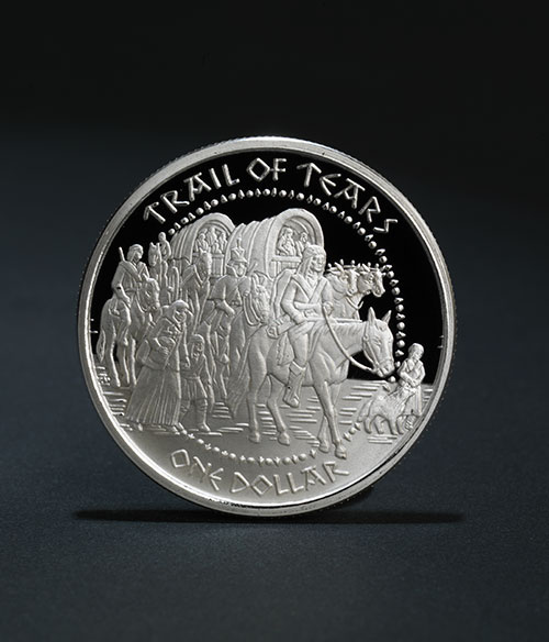 Shawnee Trail of Tears Coin