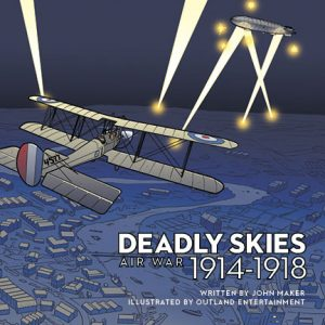 Deadly Skies cover for the souvenir catalogue