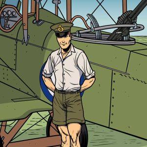 Henry Wiser, un pilote de bombardier canadien