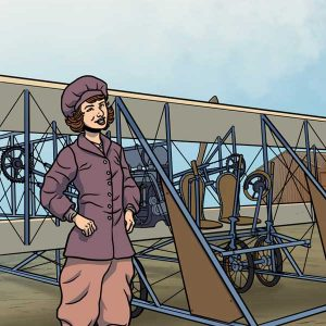 Marjorie Stinson, une instructrice de vol