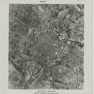 Aerial photograph of Valenciennes, France