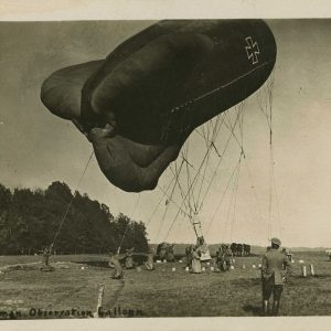 French-designed balloon in German service