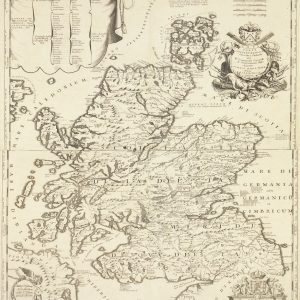 Map of Scotland, 1690